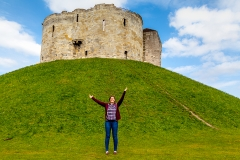 Danielle at Cliffords Tower